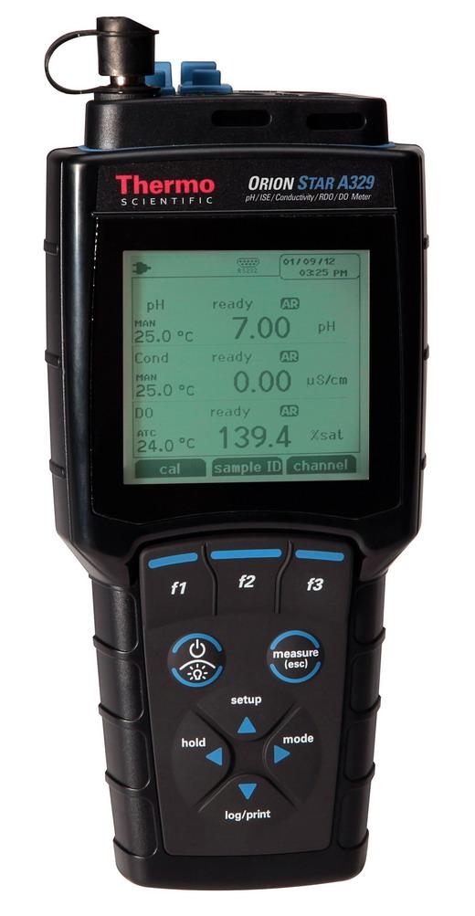 奥立龙Orion PH/ISE(离子浓度)/电导率/溶解氧便携式多参数测量仪520M-01A